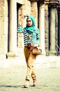 Galeri-Padu-Padan-Fashion-Baju-Muslim-Casual-Wanita-Masa-Kini-2016
